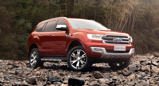 List of Ford Everest Types Price List Philippines