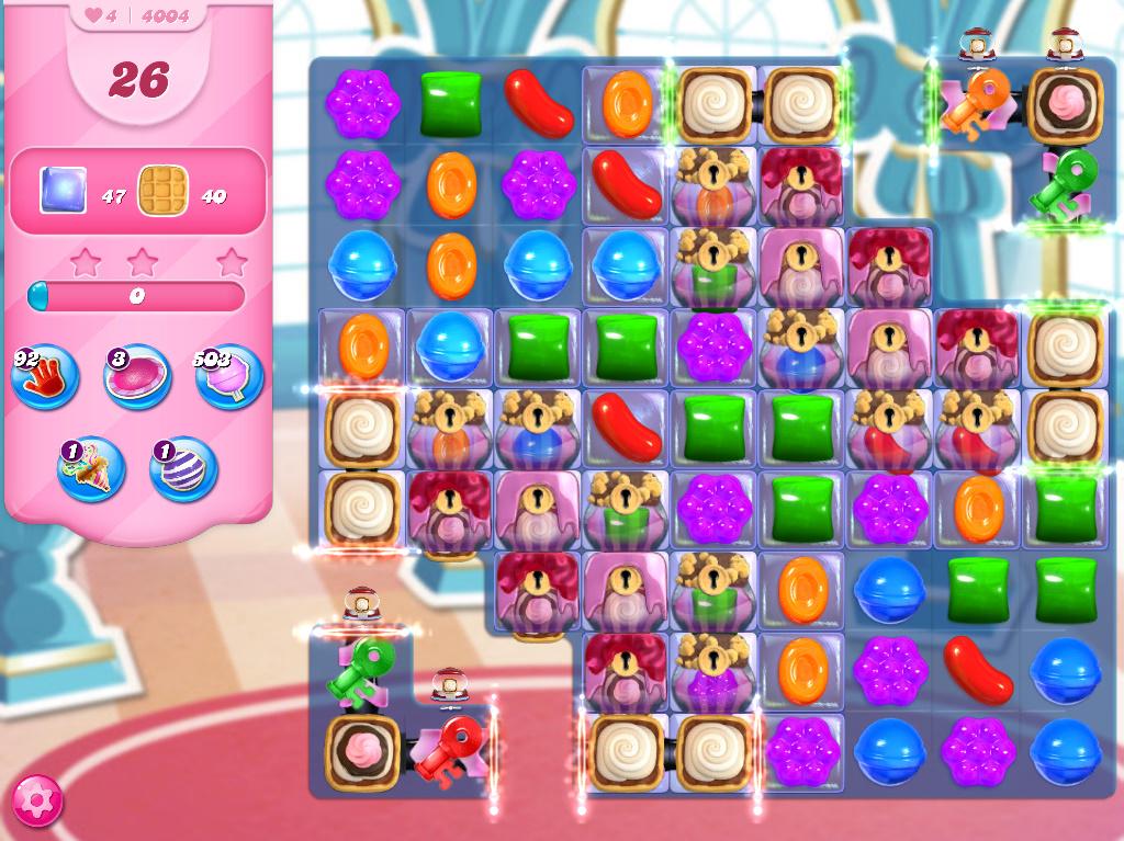 Candy Crush Saga level 4004