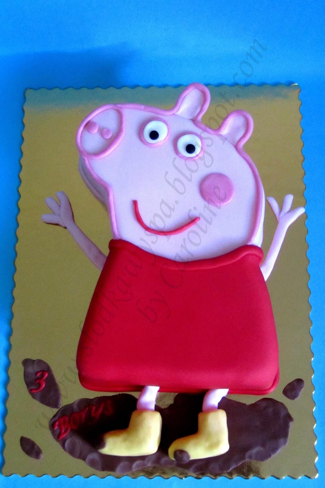 Tort Świnka Peppa Słodka Wyspa