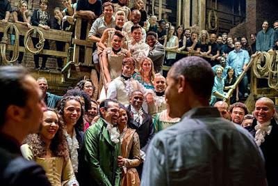 ハミルトン ミュージカル オバマ大統領