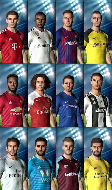 PES 2017 PES Professionals Patch 2017 v4.4 Season 2018/2019