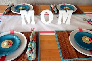Detalles, Mesa Dia de la Madre