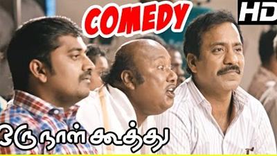 Oru Naal Koothu Tamil comedy scenes | Dinesh | Karunakaran | Charle | Bala Saravanan
