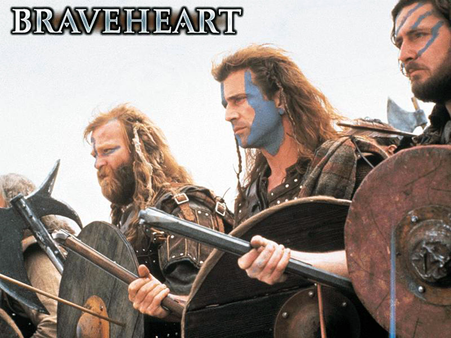 braveheart 1995 movie poster and dvd cover art