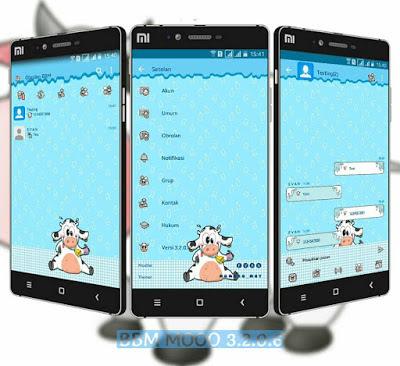 Download BBM Mod Sapi MoOo Apk Terbaru V3.2.0.6