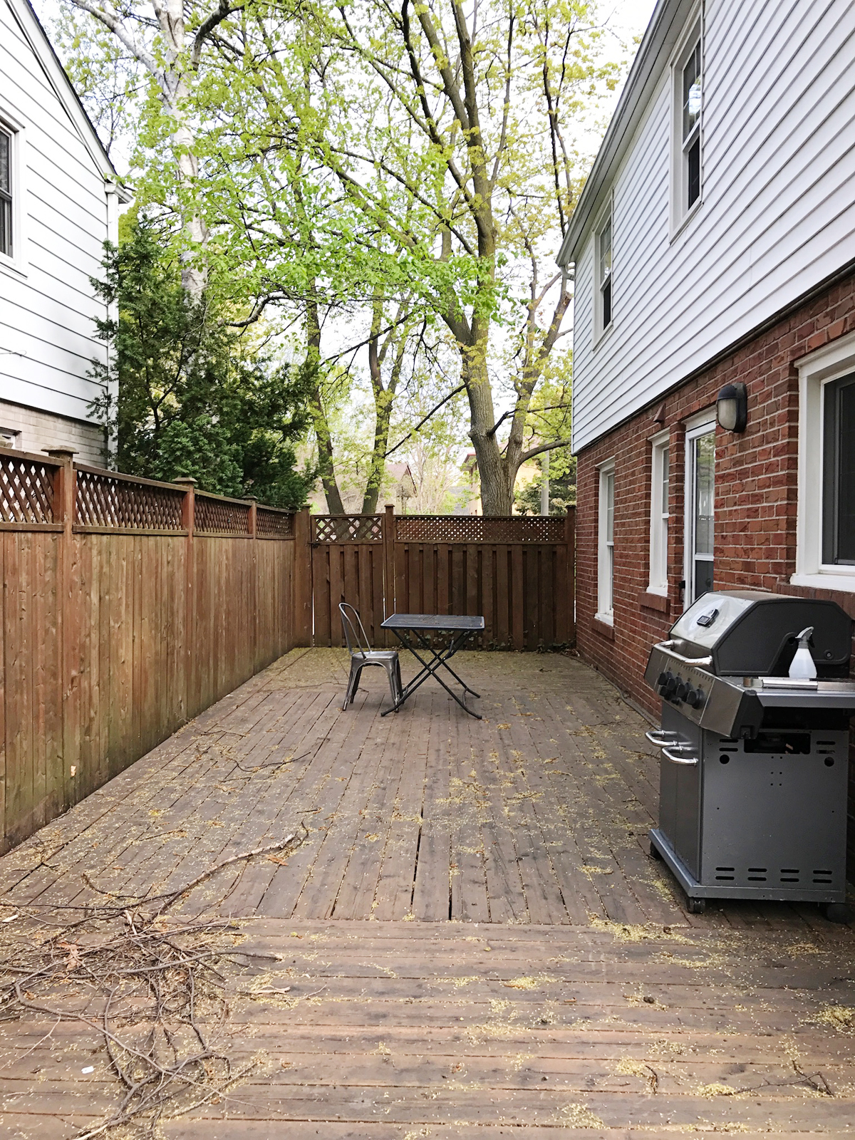 before and after home renovations, home remodel ideas, exterior renovation, deck makeover