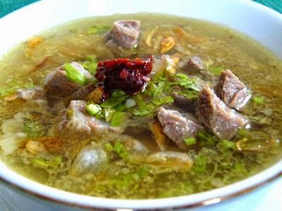 Kalori Soto Ayam Kuah Bening