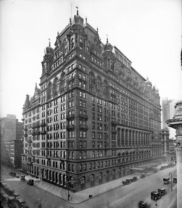Vintage Photos Of 48 Beautiful New York Buildings That No