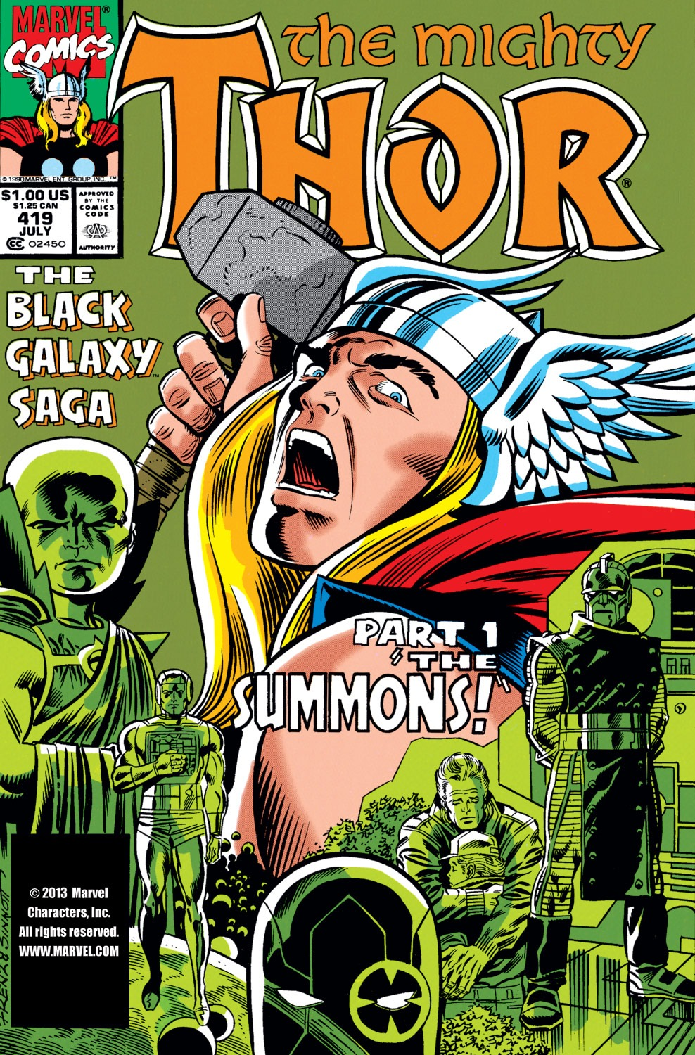 Thor (1966) 419 Page 1