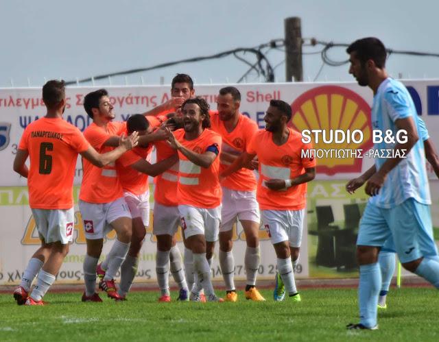 3 -1 νίκησε ο Παναργειακός την Ένωση Ερμιονίδας