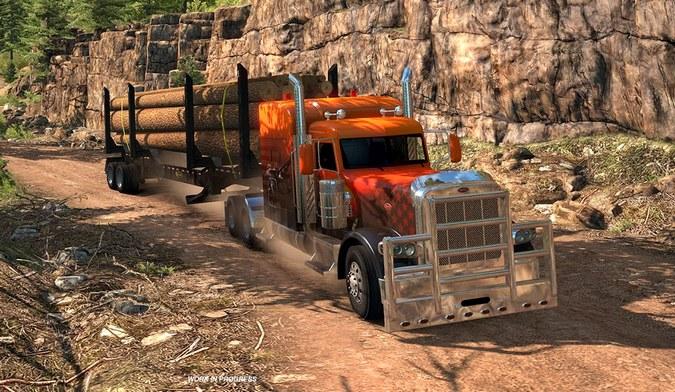 American Truck Simulator ganhará mais uma expansão do mapa este ano