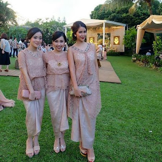 model kebaya simple buat perpisahan