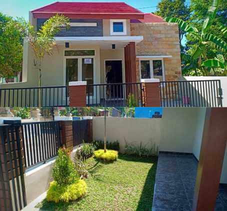 model tampak depan rumah sederhana | rumah minimalis batu alam