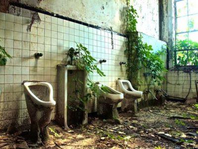 rumah syaitan , toilet angker
