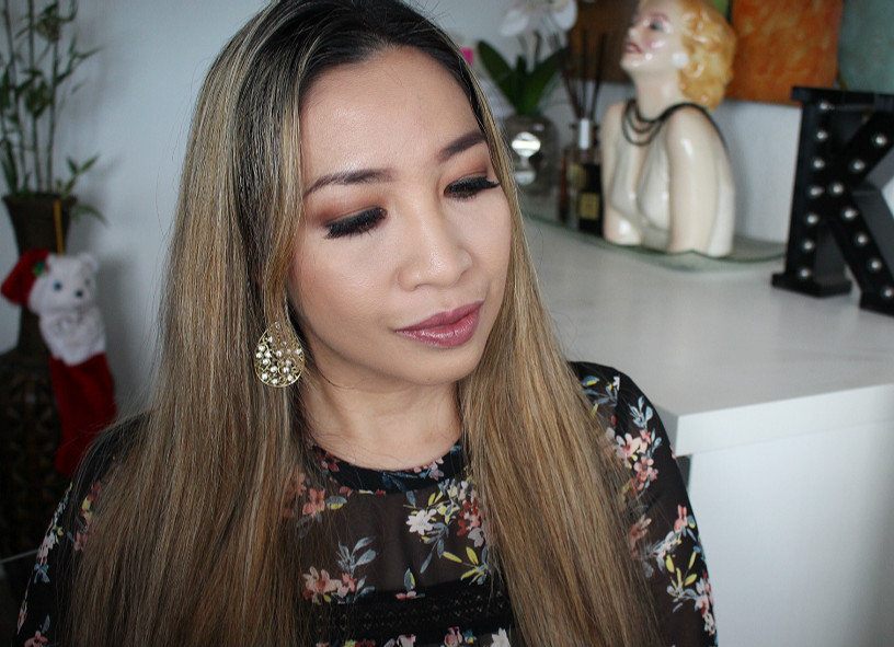 holiday makeup look, smokey sexy eyes, urban decay naked ultimate basics review swatch