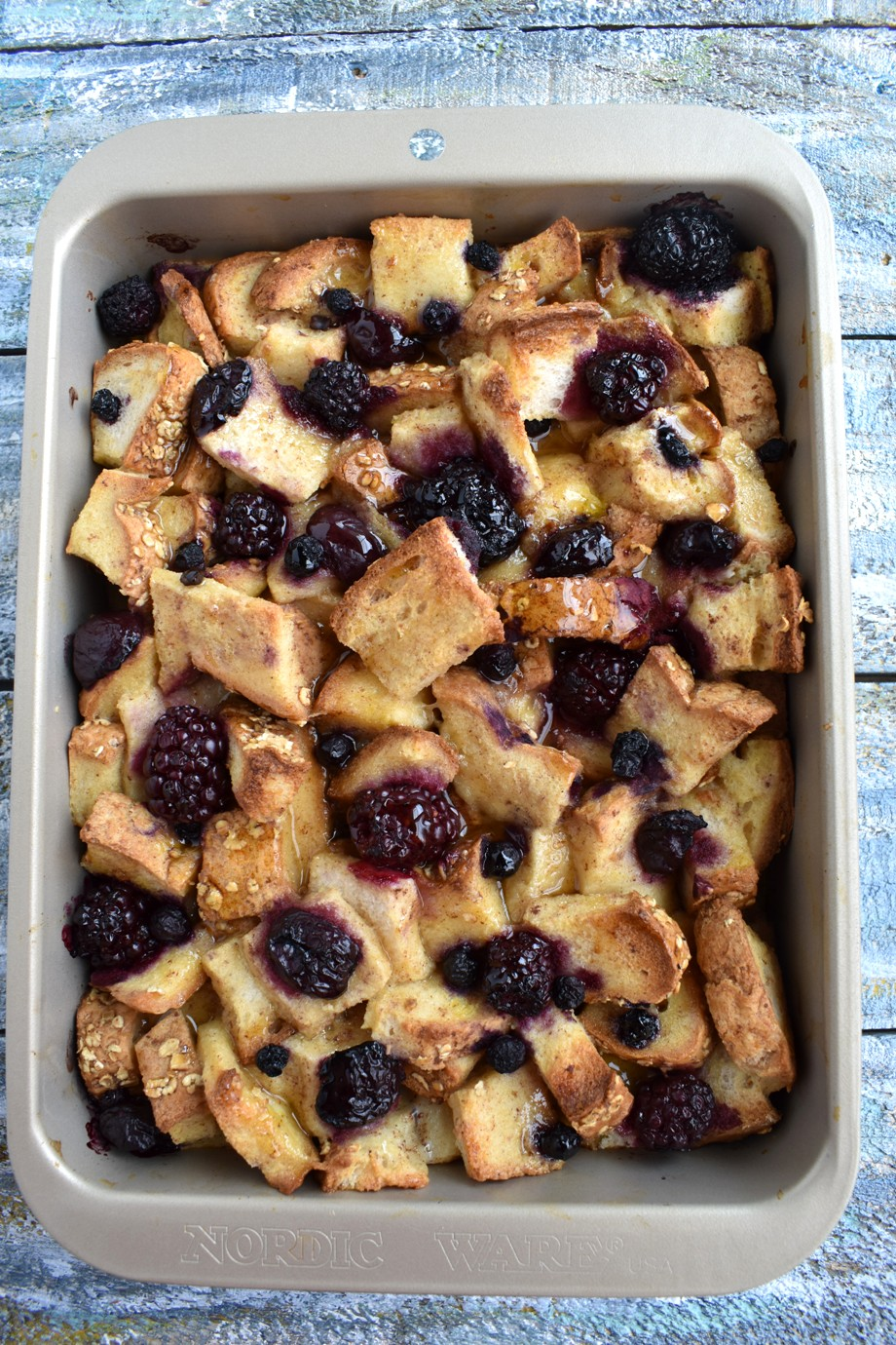 Healthy Berry French Toast Casserole