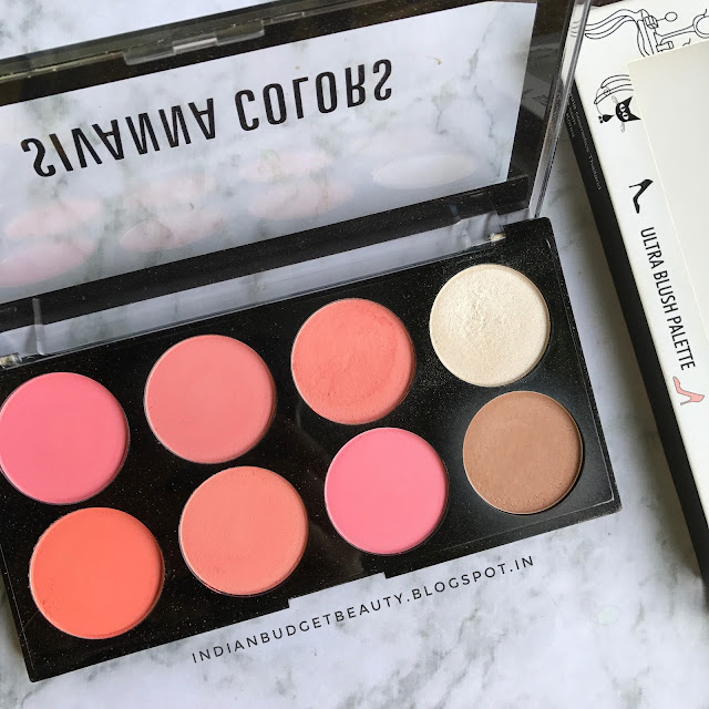 Sivanna Colors Ultra Blush Palette REVIEW + Where to buy it!