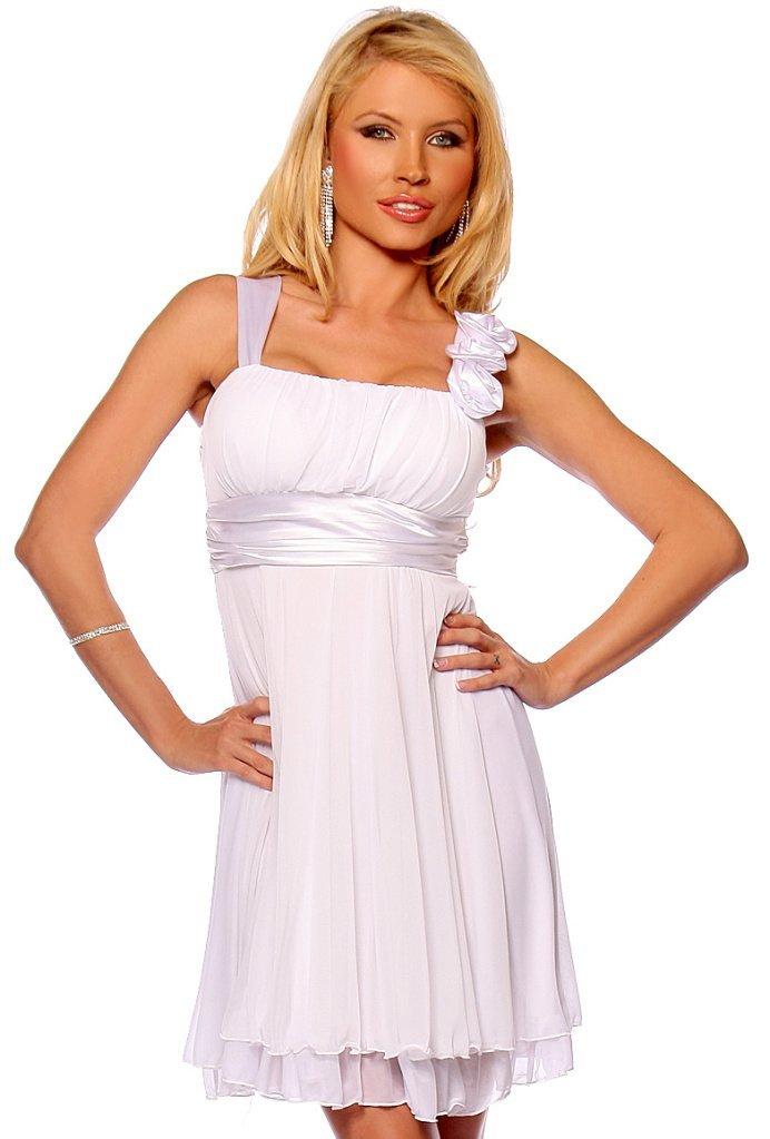 Dress4Cutelady  Designer Gathered Empire Flowy Evening Prom Party Dress 933cc27dc