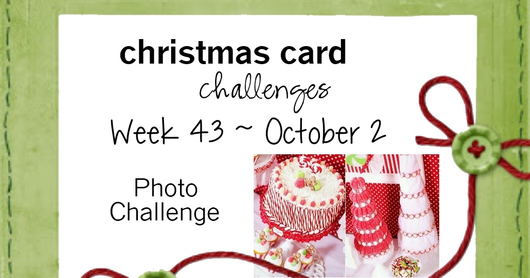 Christmas Card Challenges #43