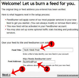 feedburner feed ki jankari hindi me