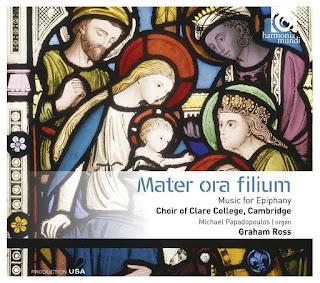 Mater ora filium - Clare College, Cambridge - Harmonia Mundi