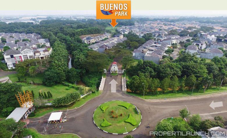 Lokasi Cluster Buenos Park BSD