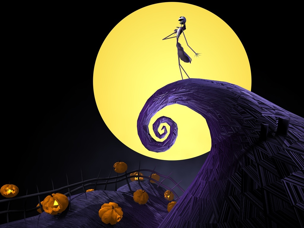 Nightmare Before Christmas Hd Wallpaper.Esperanza Gates The Nightmare Before Christmas Wallpaper Hd