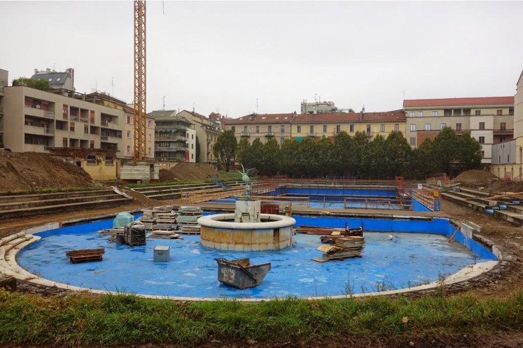 Urbanfile  Milano Zona Porta Romana  La Piscina Caimi in restauro