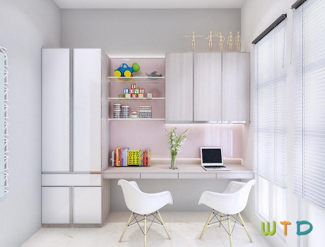Desain Interior Ruang Belajar Anak