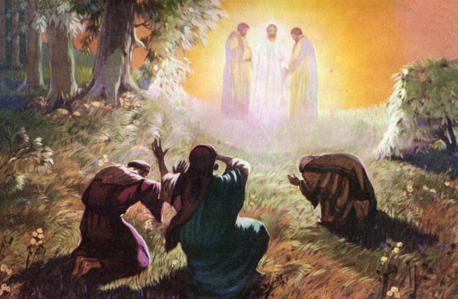 Ilustração da Transfiguração