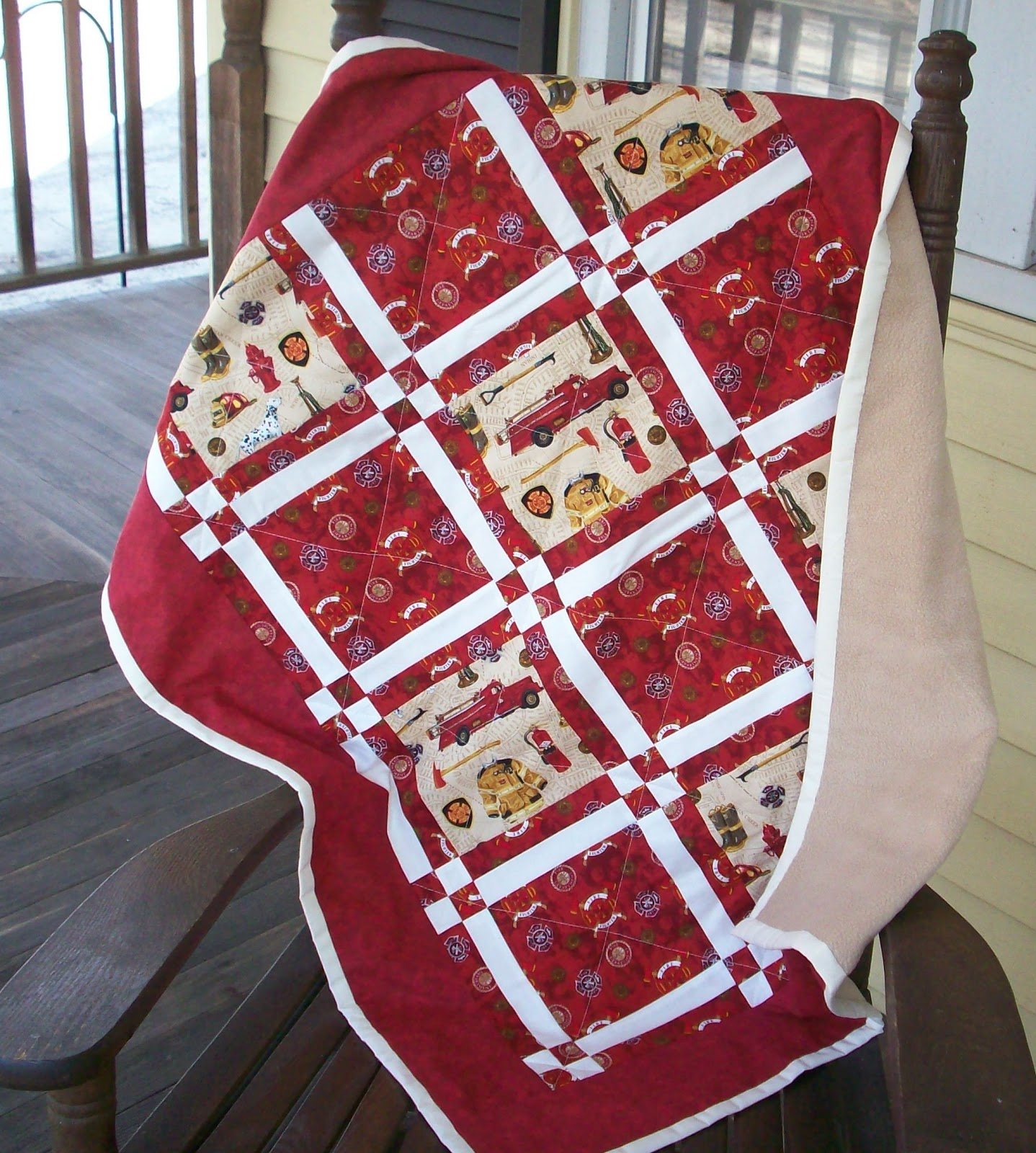 Stampin Quilter A Firefighter Quilt