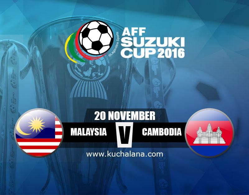 AFF Suzuki Cup 2016 : Malaysia Vs Cambodia