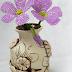 Oya Boncuklarından Çiçek Yapımı