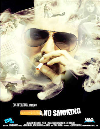 Poster Of No Smoking 2007 Hindi 720p HDRip ESubs Free Download Watch Online
