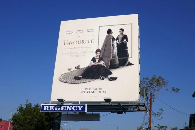 Favourite movie billboard