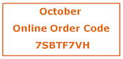 Stampin' Up! Monthly Online Order Code