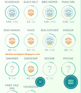 17 Medals Pokemon GO