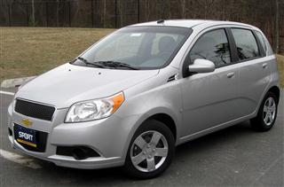 Chevrolet Aveo – 99 kematian per juta