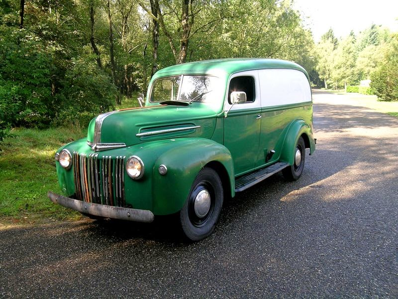 Rodcitygarage 1947 Ford Panel Delivery Van