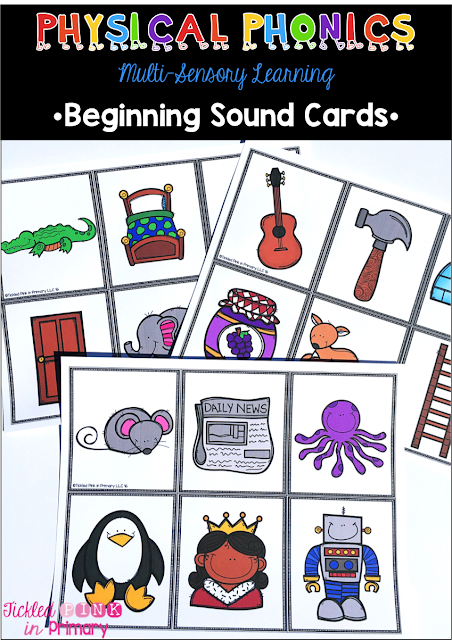 Physical Phonics Alphabet - Beginning Sound Cards