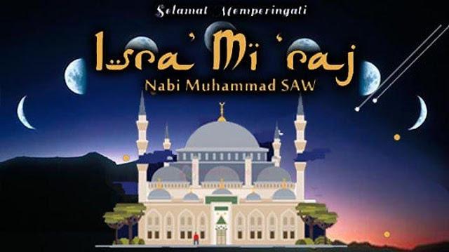 hadits tentang isra miraj nabi muhammad