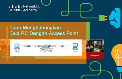 Cara Menghubungkan Dua PC Dengan Access Point pada Simulasi Packet Tracer