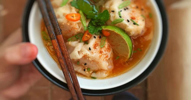 Shrimp Wonton Soup Recipe