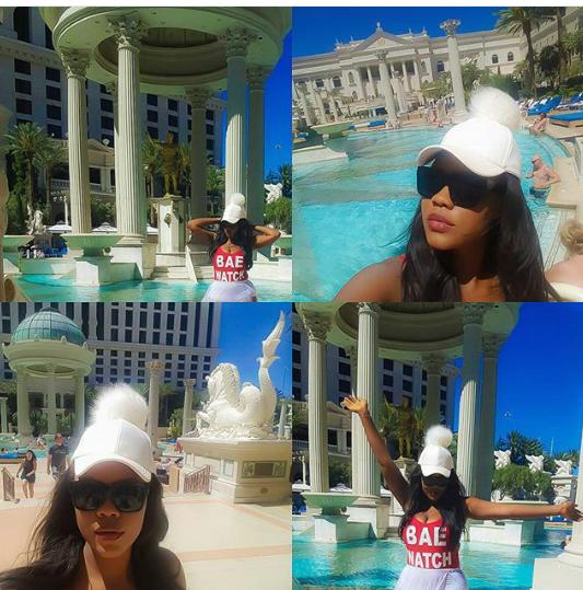 Daniella Okeke flaunts bikini body in Vegas (Photos) 2
