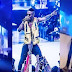 During Wizkid's Performance Last Night Security Guard Throws Fan Off From The Stage When Trying To Touch Wizkid And J Cole