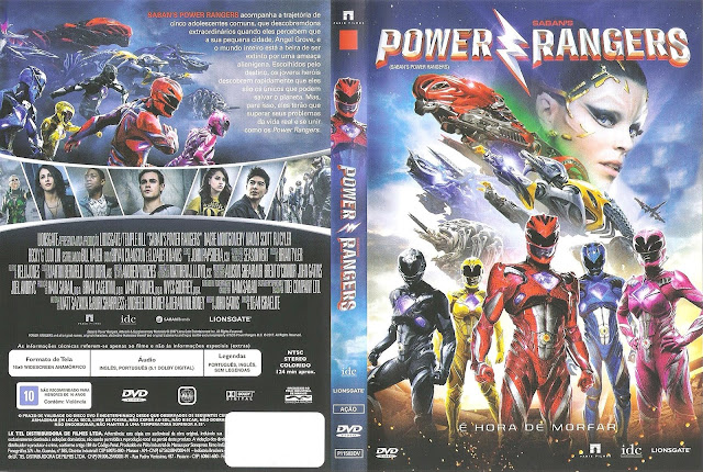 Capa DVD Power Rangers