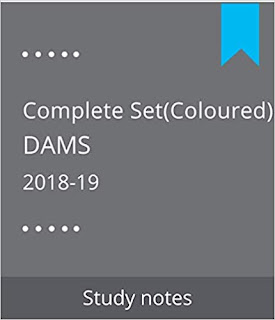 COLOURED DAMS NOTES NEET PG