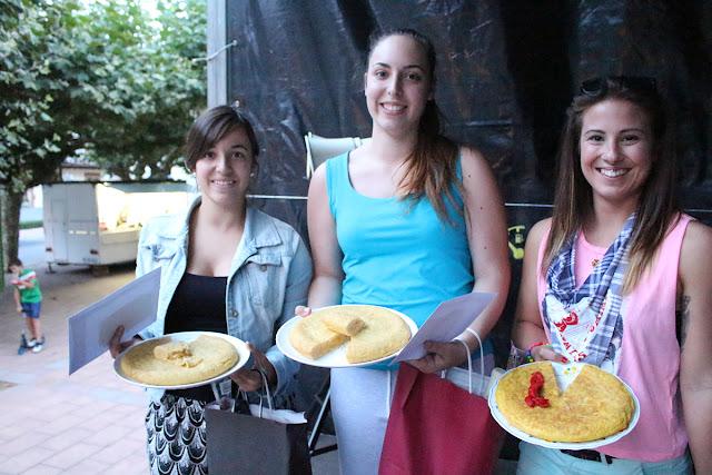 Concurso de tortilla en El Regato
