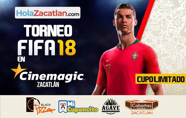 primer torneo de FIFA 18 en Cinemagic Zacatlán