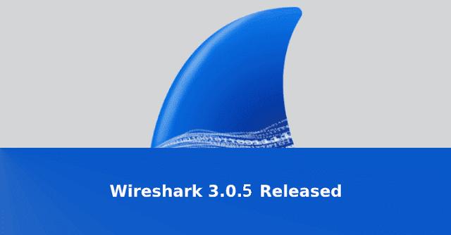 Foi lançado o Wireshark 3.0.5 com correção para várias vulnerabilidades